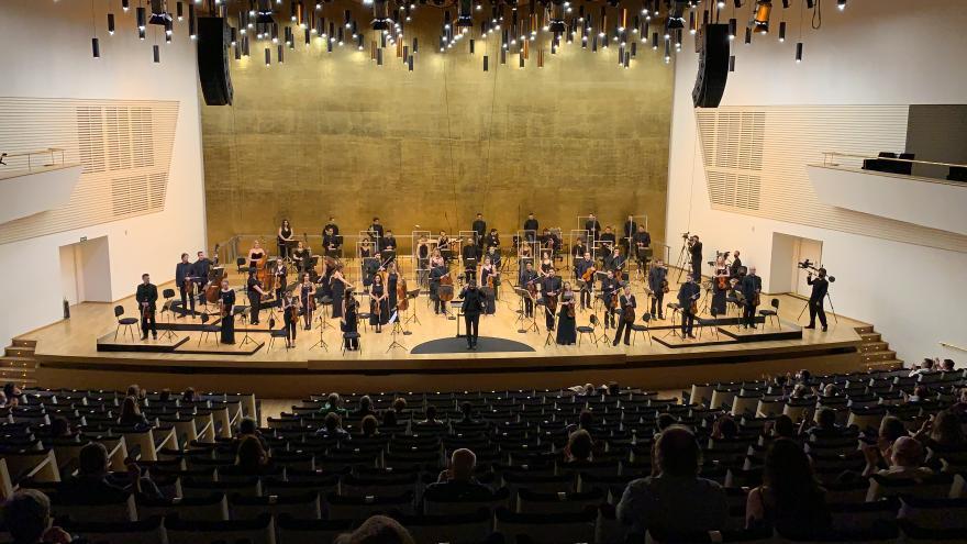 Los conciertos de ADDA-Simfònica podrán verse en Movistar TV a partir de mañana