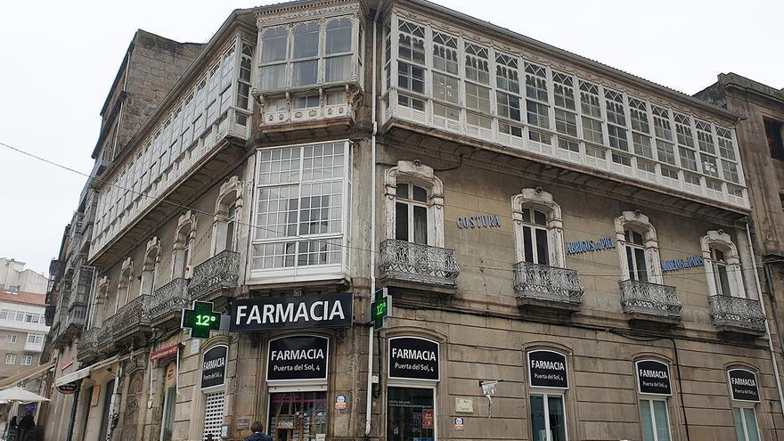 La reforma de Porta do Sol se extiende con la rehabilitación de edificios históricos del entorno