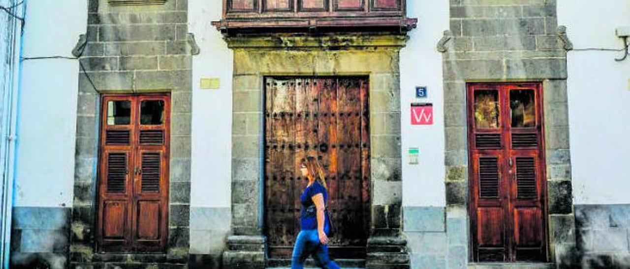 Vivienda vacacional en el barrio de Vegueta.