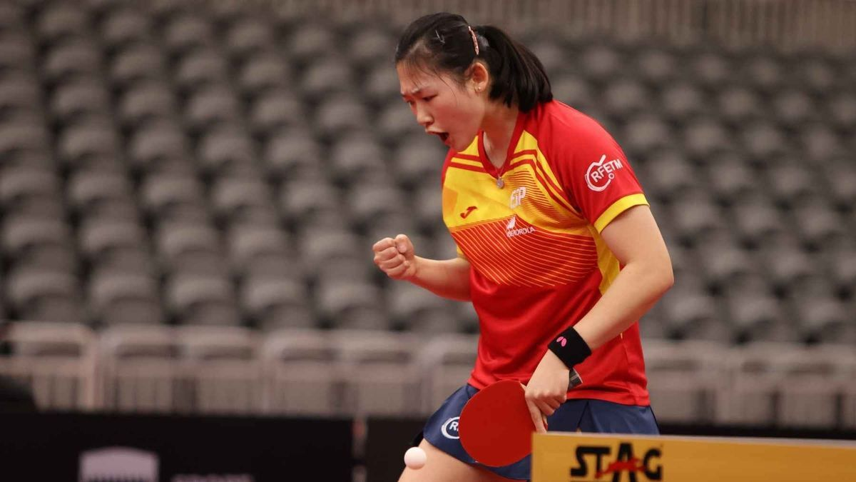 La española María Xiao.