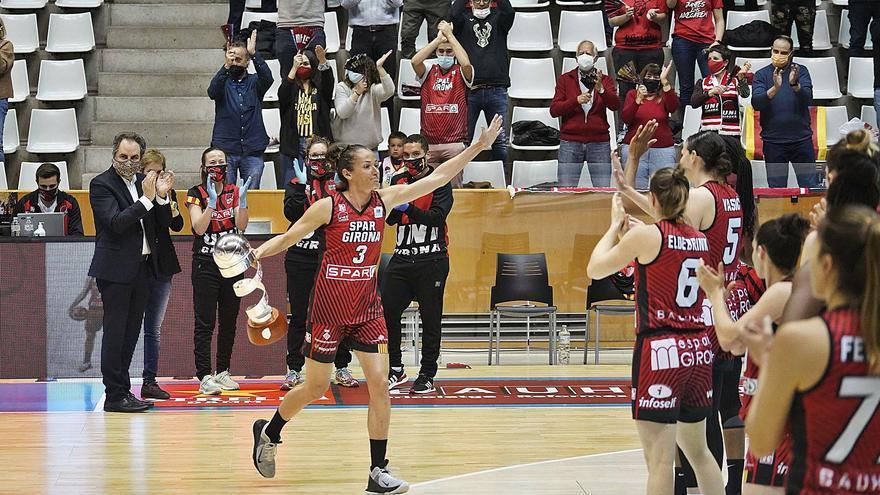 Laia Palau continuarà una temporada més a l'Spar Girona