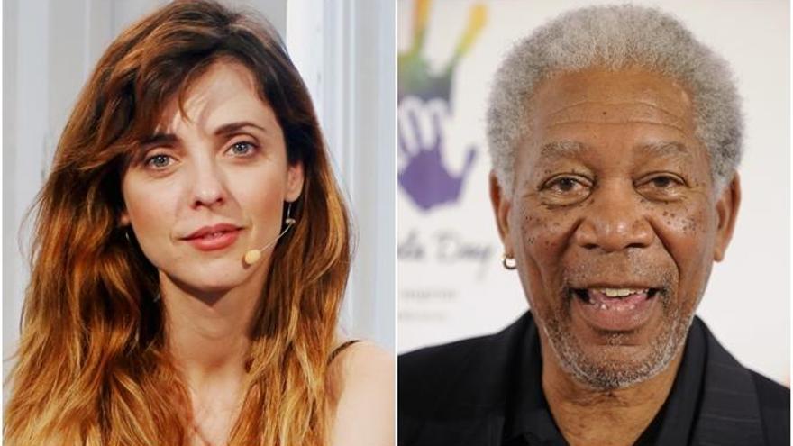 Leticia Dolera, criticada por un chiste sobre Morgan Freeman