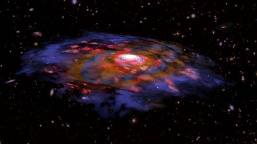 Las galaxias no tuvieron infancia