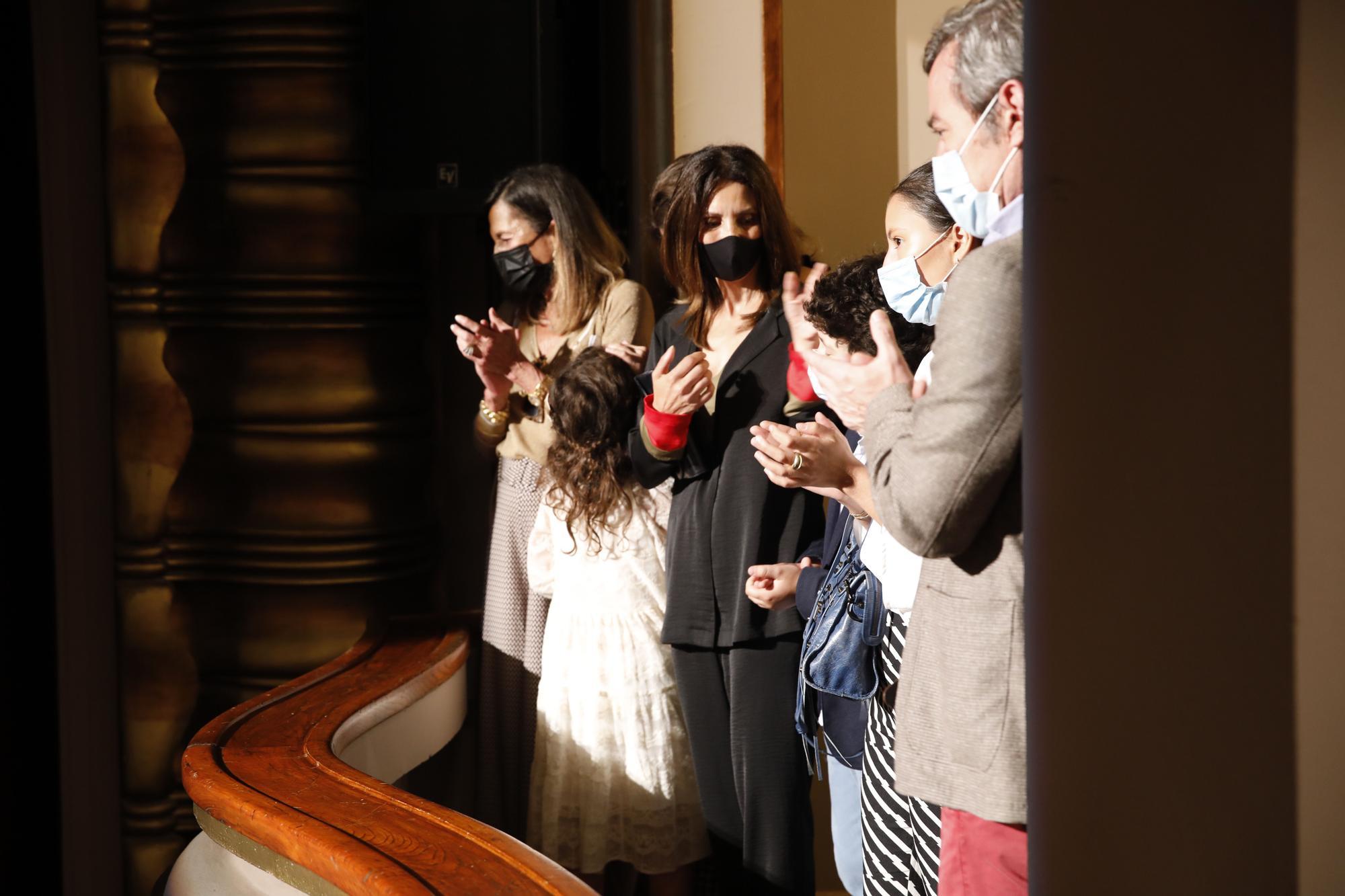 Acto de homenaje a Arturo Fernández en el Jovellanos