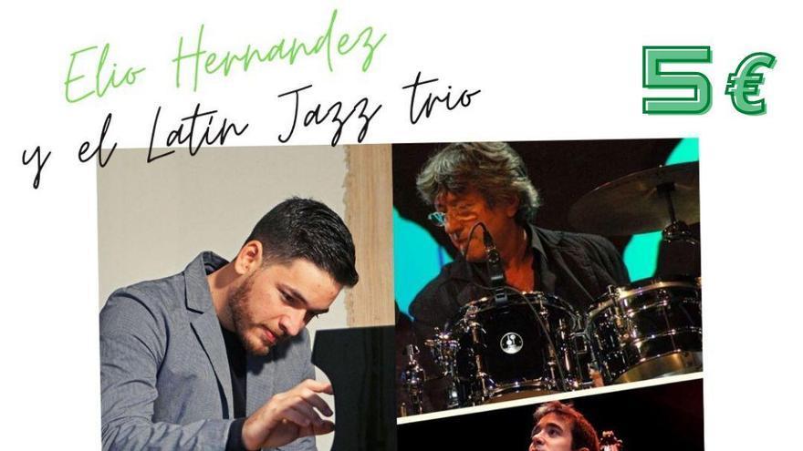 Concierto de Elio Hernández y el Latin Jazz Trio en Alicante