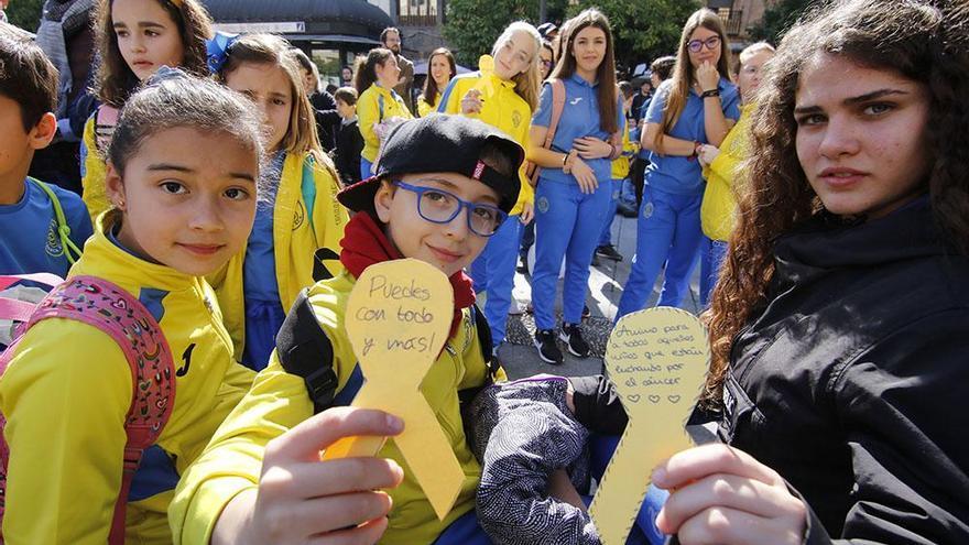 Los niños de Córdoba les mandan su fuerza a los pequeños con cáncer