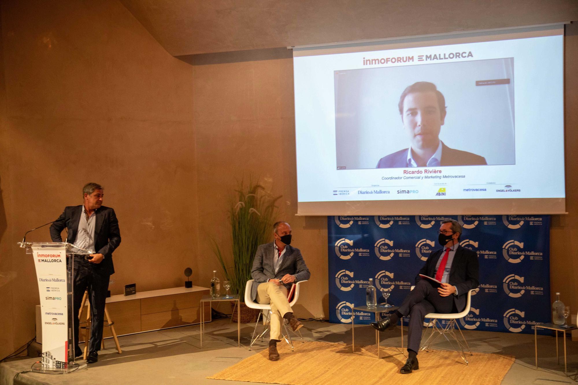 Segunda edición de Inmoforum en Club Diario de Mallorca: Perspectivas para el sector inmobiliario balear en 2021