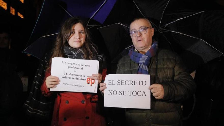 Concentración en Palma contra el ataque el juez Florit