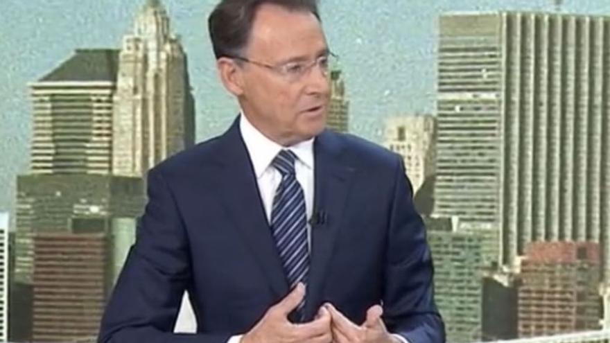 Un Matías Prats emocionat recorda com va viure la retransmissió de l'11-S amb Ricardo Ortega