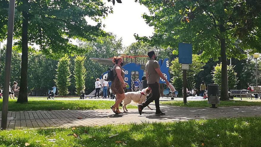 Siero aprueba el plan para llevar el carril bici hasta el parque de la Paz, en Lugones