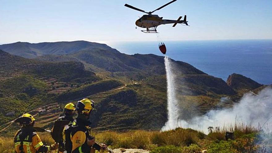 Los incendios forestales consumen durante este año 80 hectáreas en Baleares