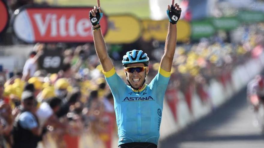 Luis León, Bilbao, Izagirre y Fraile, los españoles del Astana en el Tour