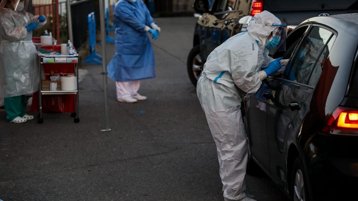 Pruebas PCR en una localidad de Zamora