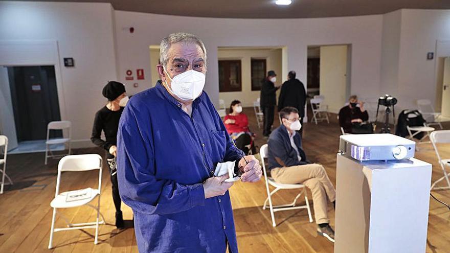 """Boni Ortiz repasa la historia teatral de Gesto, """"hundida tras el acoso del franquismo"""""""