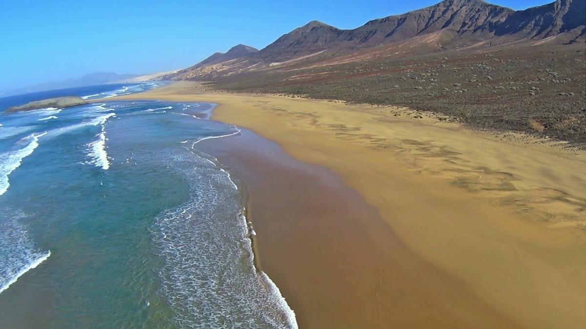 Playa de Cofete, una de las seleccionadas.