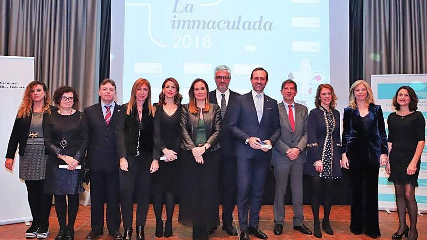 El Colegio de Farmacéuticos de Baleares celebró su patrona con un recuerdo a Joana Lliteras