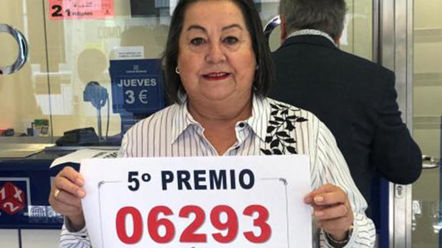 Un quinto premio de la Lotería de Navidad, el 6293, deja más de un millón de euros en Ibiza