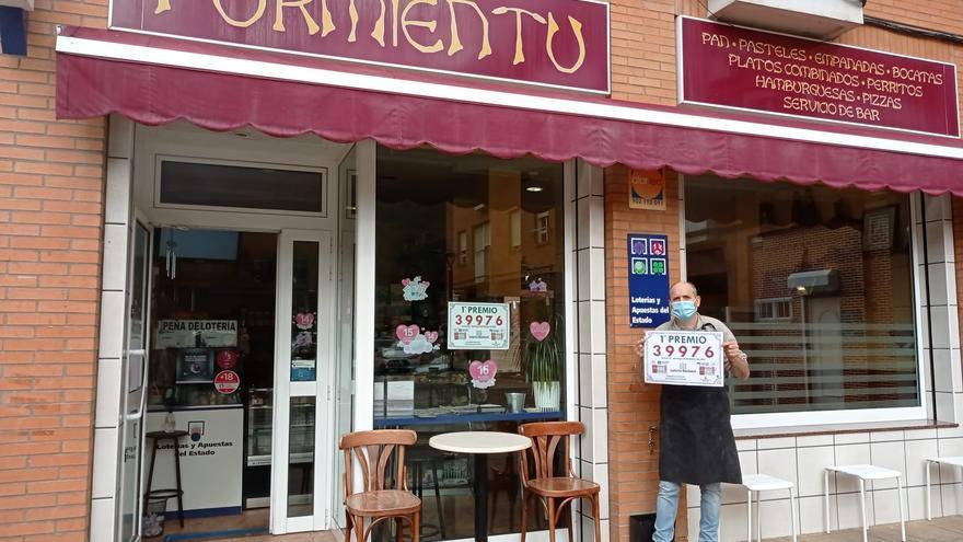El primer premio de la lotería nacional cae en Santa Eulalia de Morcín
