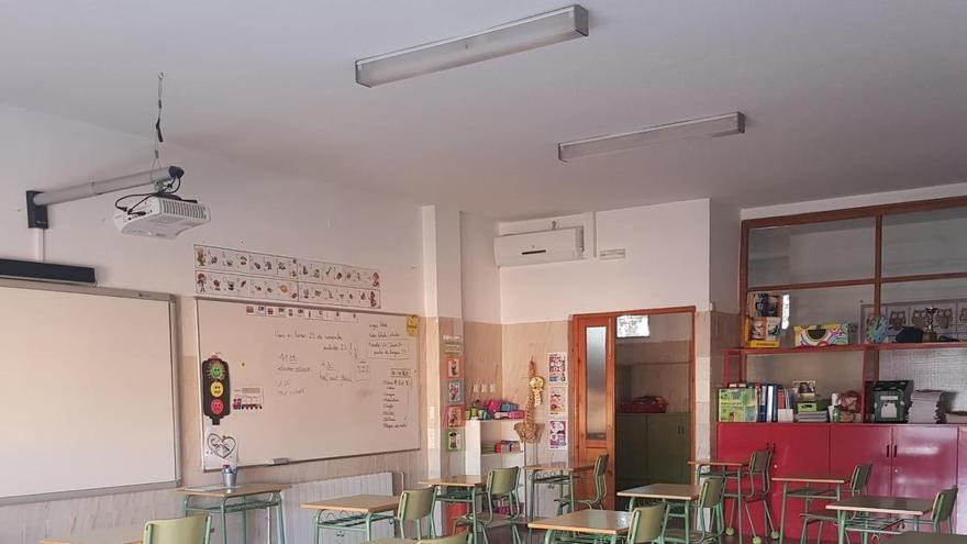 El colegio Cristo Crucificado de Cieza instala filtro HEPA en las aulas del centro
