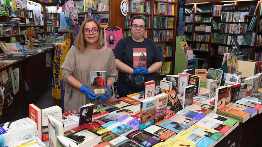Desescalada en A Coruña   Reapertura de librerías