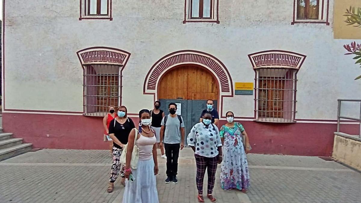 La convivencia se abre paso en el barrio de Orriols. | LEVANTE-EMV