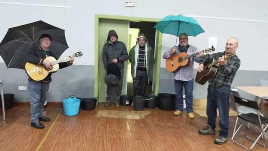 Ensayos bajo la lluvia