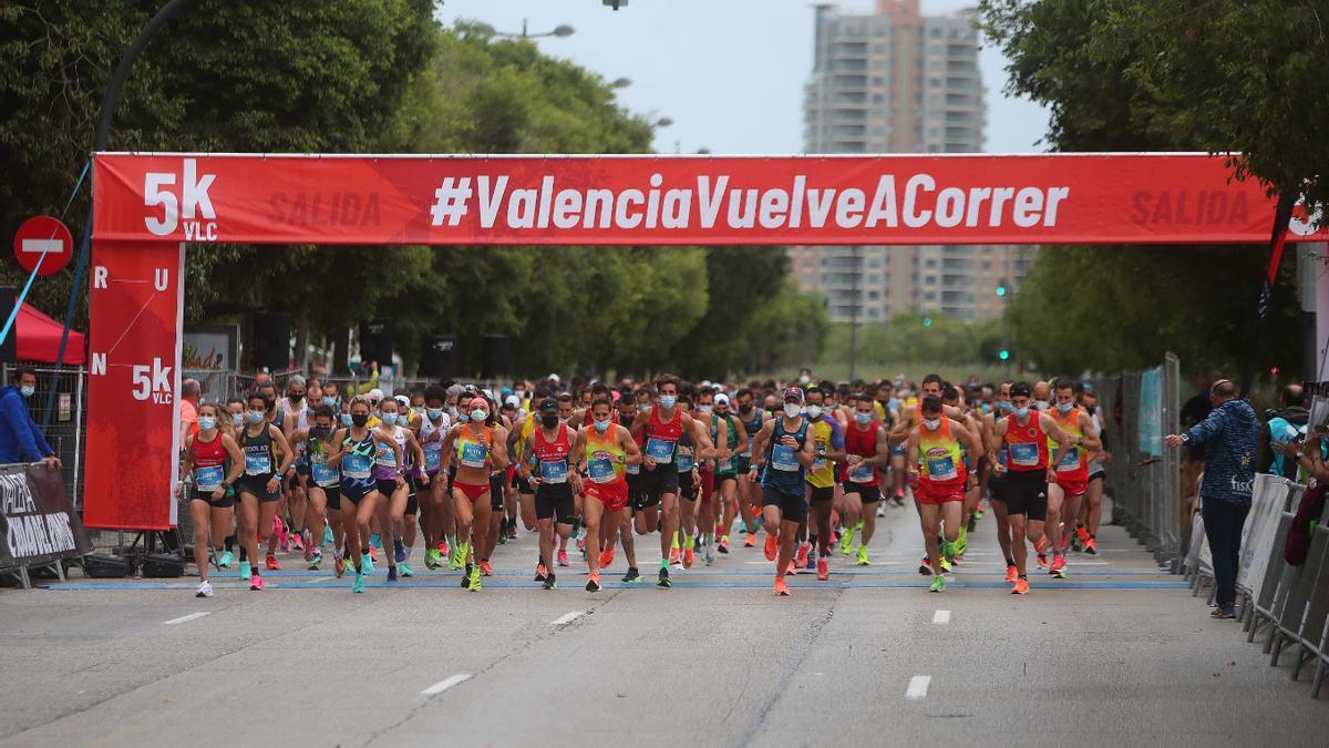 Búscate en la 5K #ValènciaVuelveACorrer