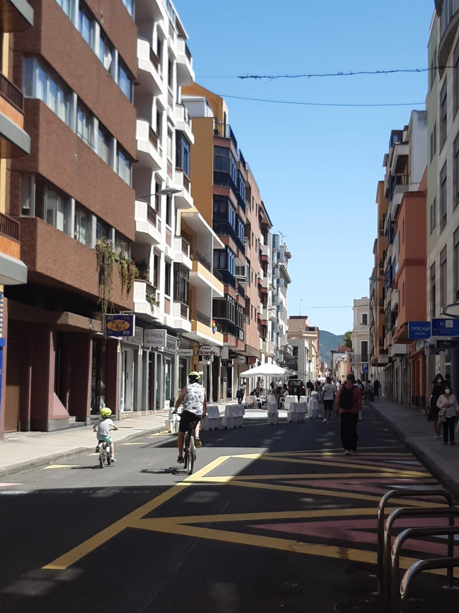 Así será la Gran Vía Peatonal entre Alcaravaneras y Triana
