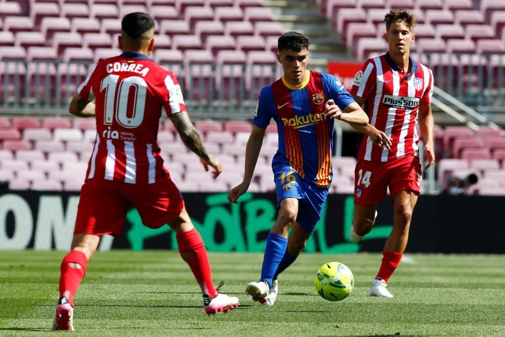 Barça - Atlètic de Madrid, en fotos