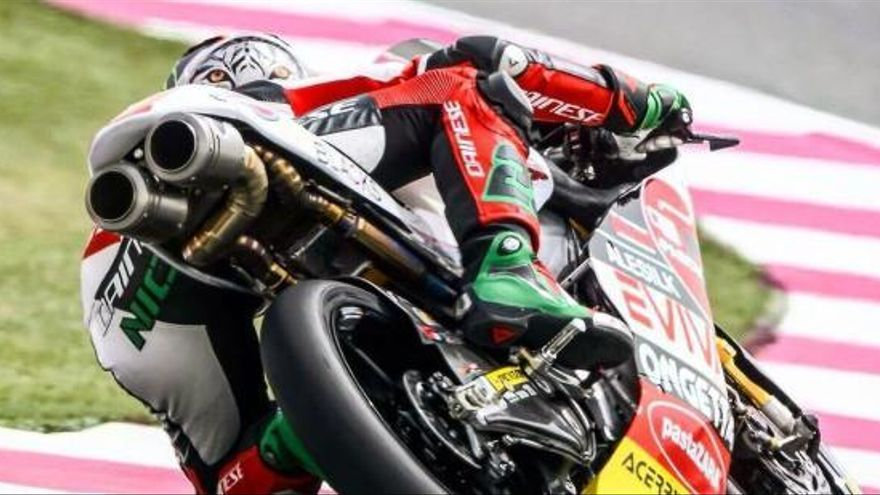 Antonelli pren la 'pole' a Jorge Martín a Moto3