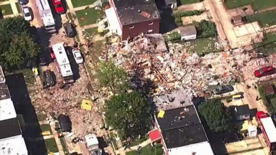 Al menos un muerto por una gran explosión en Baltimore