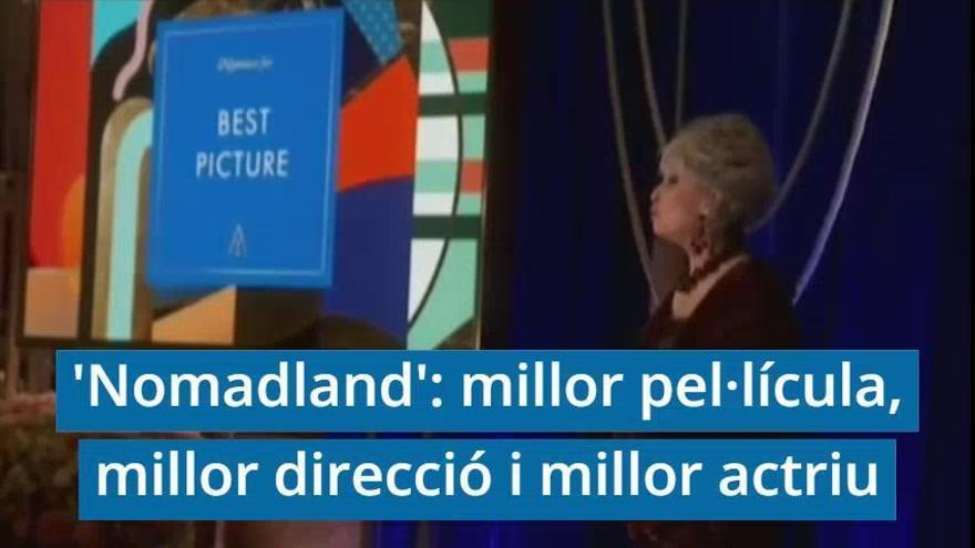 «Nomadland» s'endú l'Oscar a la millor pel·lícula i a la millor directora