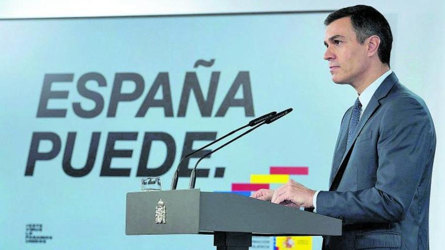 Sánchez aprueba un estado de alarma que quiere llevar hasta el día 9 de mayo