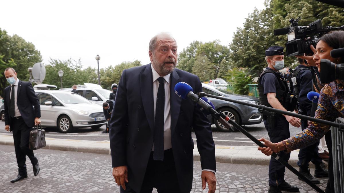 El ministro francés de Justicia, Eric Dupond-Moretti