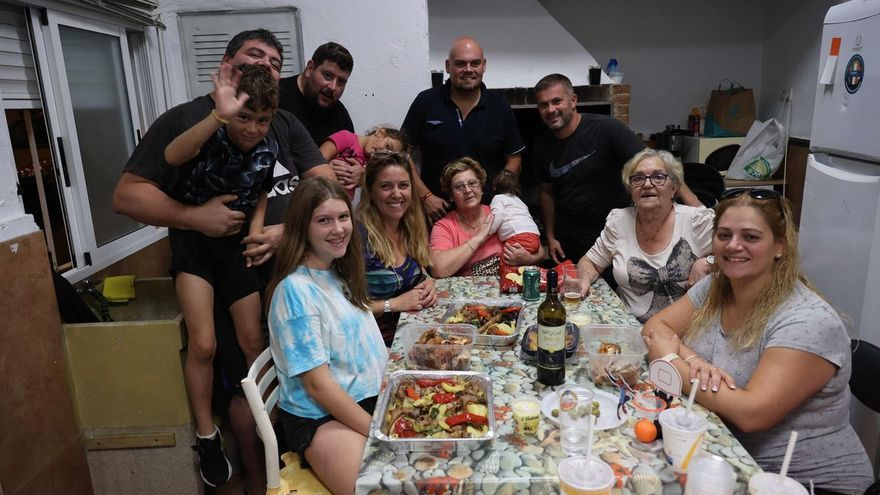 Una 'nit de xulla' bajo techo en los barrios de Vila-real