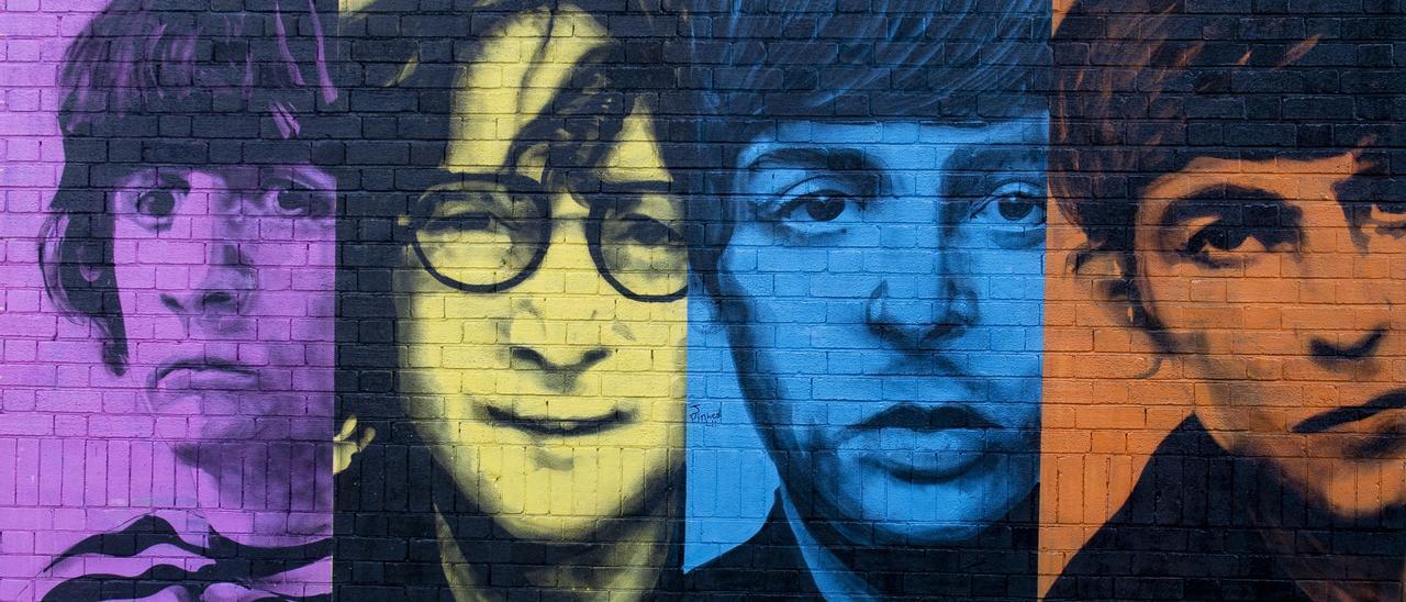 Beatles Mural Liverpool