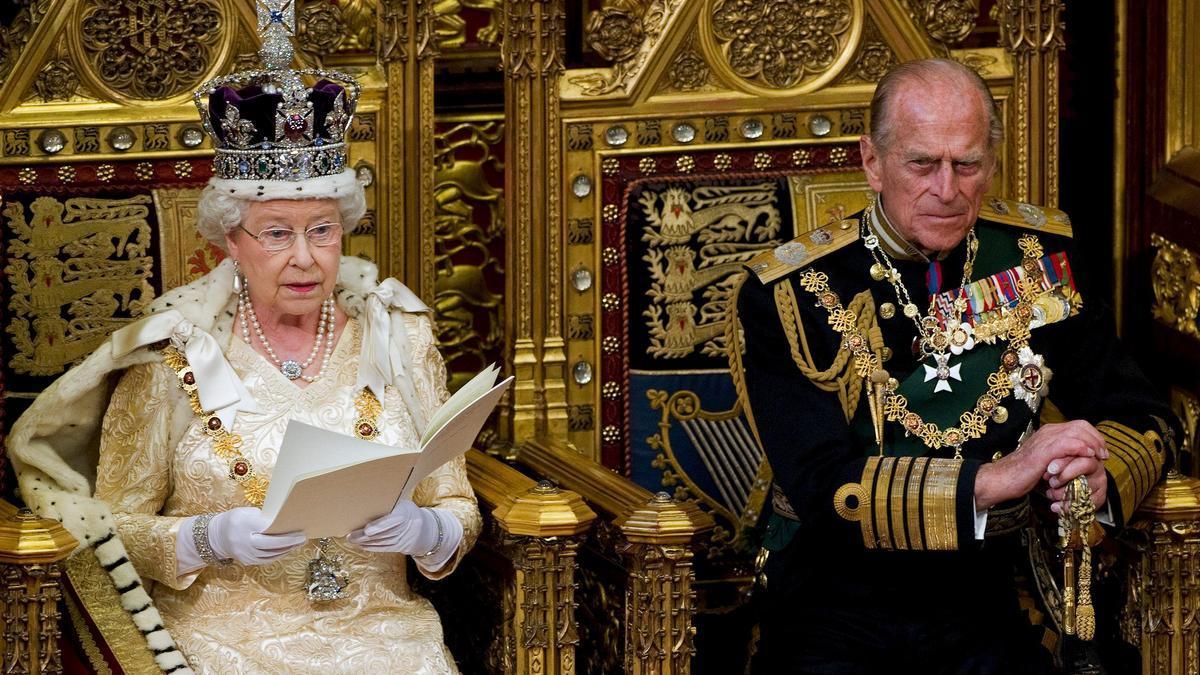 Fallece el duque de Edimburgo, esposo de la reina Isabel II.