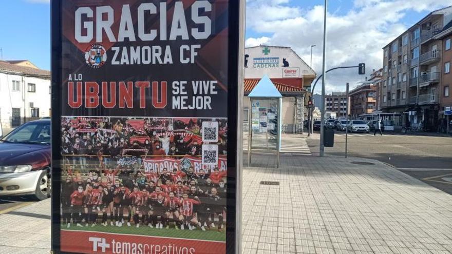 Apoyo al Zamora CF en todos los rincones