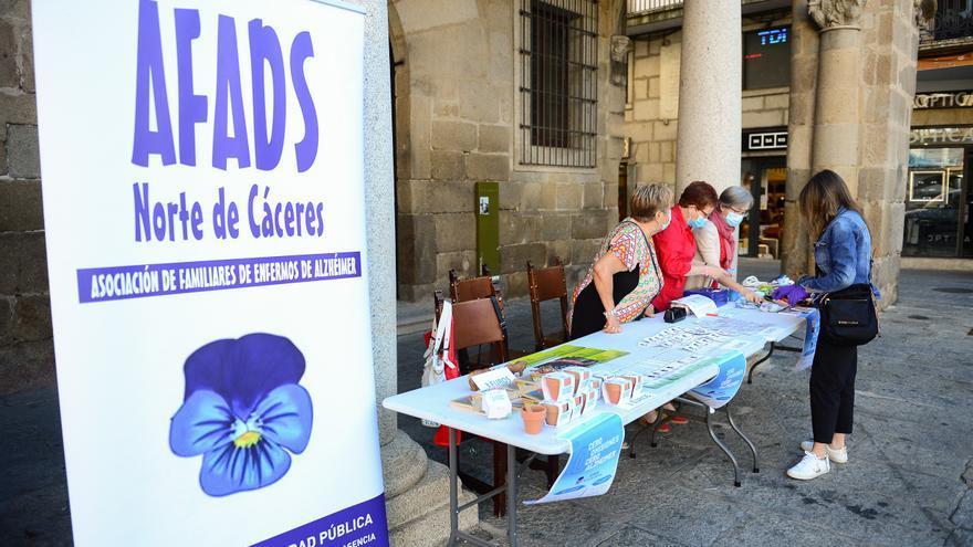 """Afads Plasencia: """"Cada vez hay personas más jóvenes con alzhéimer"""""""