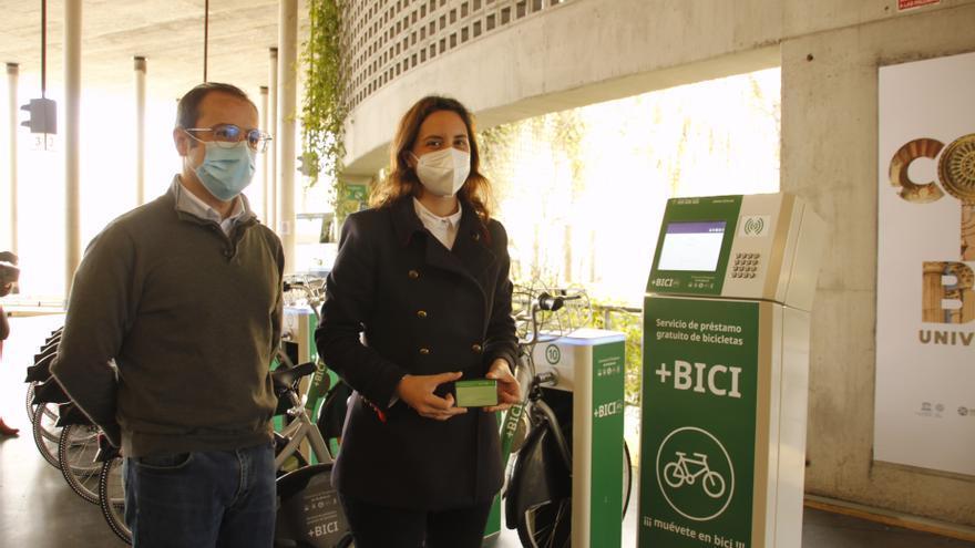 La Junta invierte 11.500 euros para ampliar a 16 la flota del servicio +Bici de la estación de autobuses de Córdoba