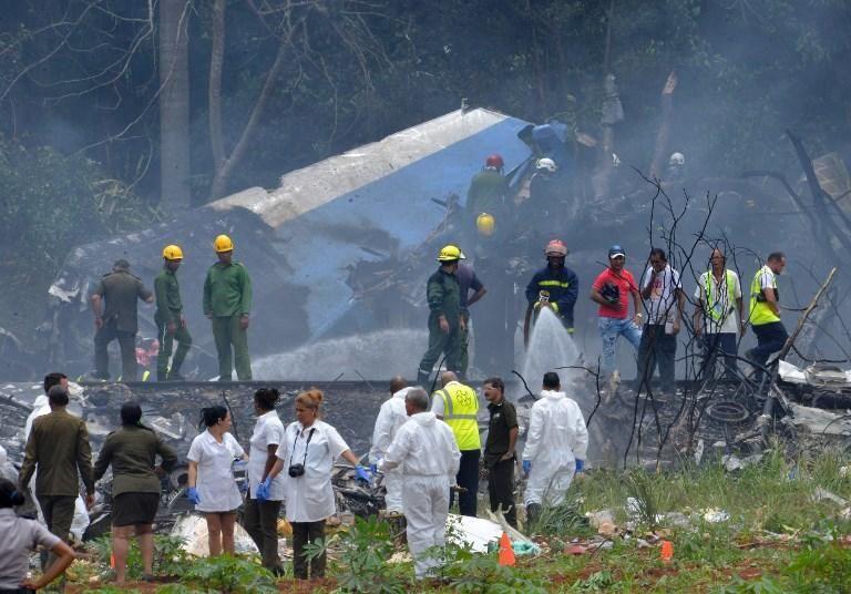 Un avión se estrella tras despegar del aeropuerto de La Habana