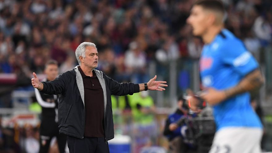De Mourinho a Spalletti, los técnicos del Calcio se rebelan ante los árbitros