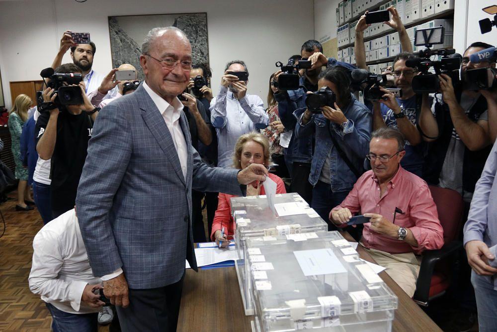 Ell alcalde y candidato del PP a la reelección, ...