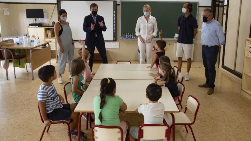 El curso arranca con normalidad en decenas de colegios de las tres comarcas