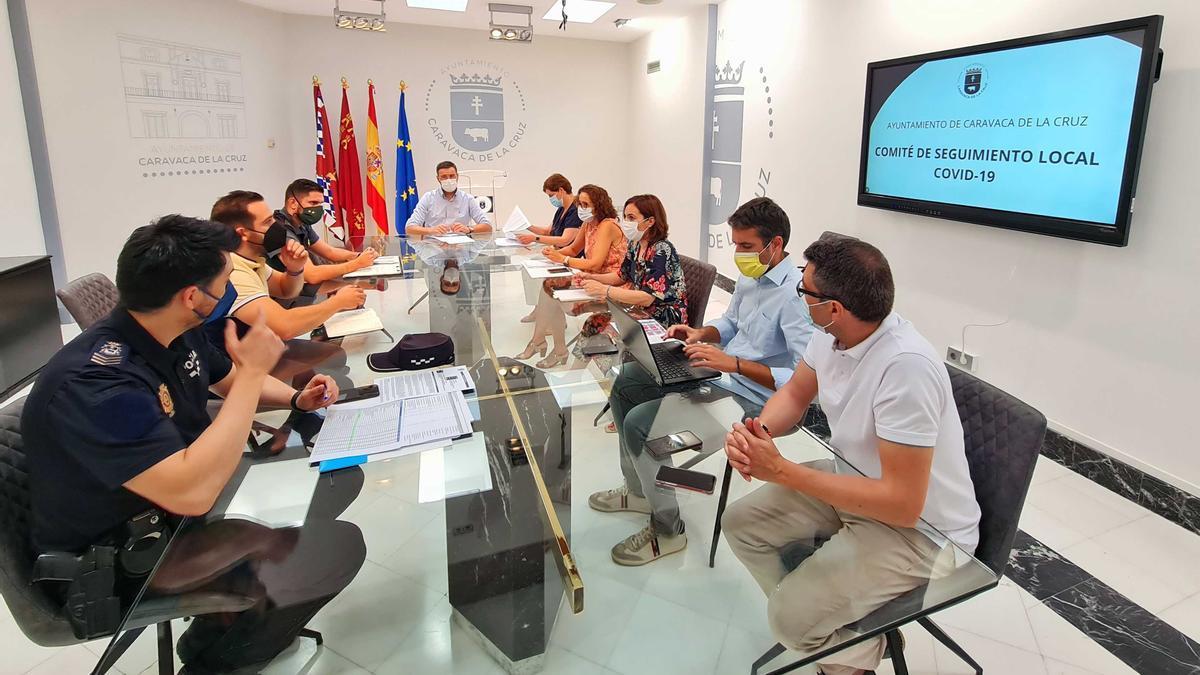 Comité Covid en Caravaca