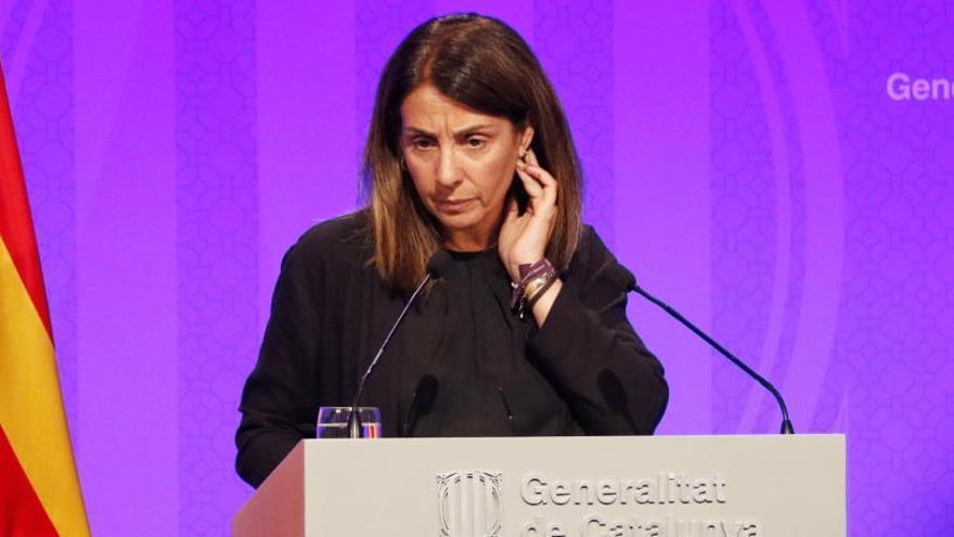 Budó incompleix el règim d'incompatibilitats del PDeCAT des que és consellera i portaveu del Govern