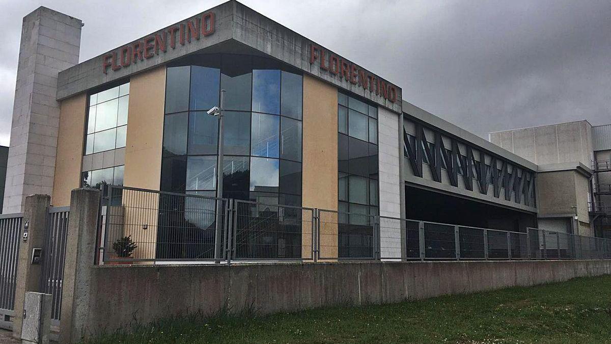 Vista exterior de las instalaciones de la firma Florentino en el polígono Lalín 2000.