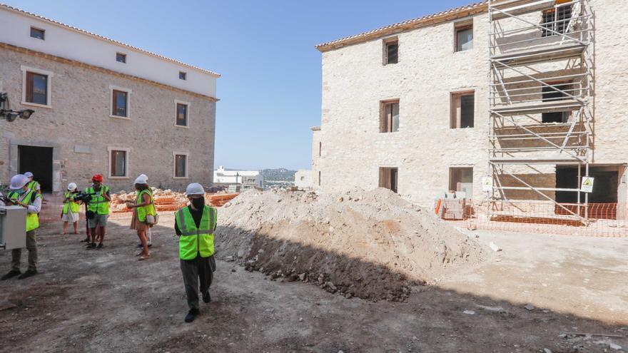 Las obras del Parador de Ibiza se retoman mañana tras estar paradas varios meses
