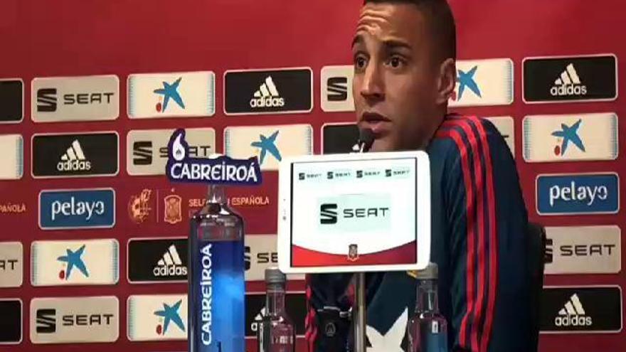 Rodrigo Moreno habla del interés del Barça