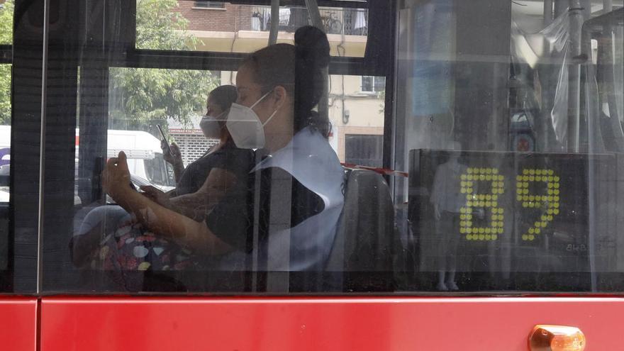 ¿Cómo se puede evitar el contagio en el transporte público?